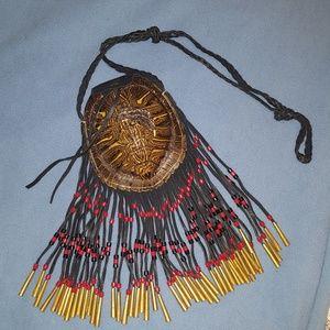 Real turtle shell bag